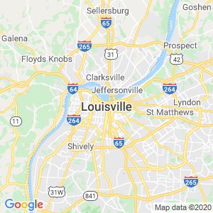 Louisville Dumpster Rentals Service Area