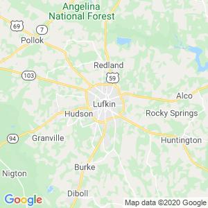 Lufkin Dumpster Rentals Service Area