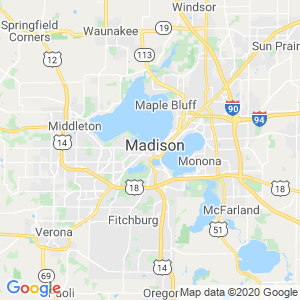 Madison Dumpster Rentals Service Area