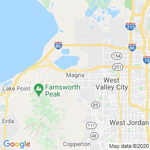 Magna Dumpster Rentals Service Area