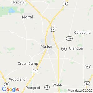 Marion Dumpster Rentals Service Area