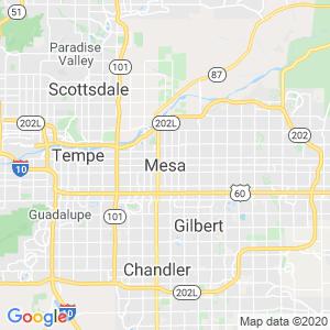 Mesa Dumpster Rentals Service Area
