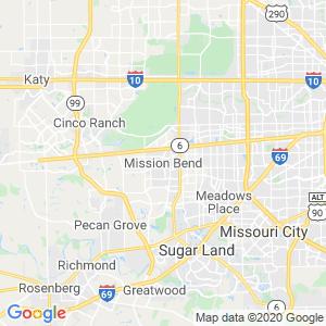 Mission Bend Dumpster Rentals Service Area
