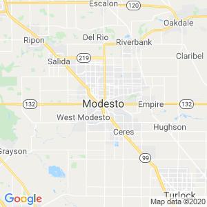 Modesto Dumpster Rentals Service Area