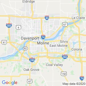 Moline Dumpster Rentals Service Area