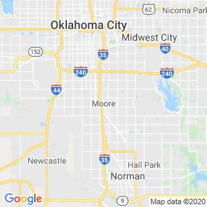 Moore Dumpster Rentals Service Area