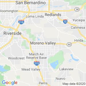 Moreno Valley Dumpster Rentals Service Area