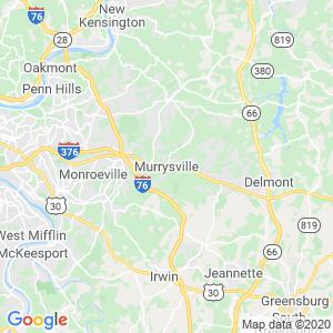 Murrysville Dumpster Rentals Service Area