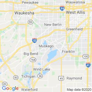 Muskego Dumpster Rentals Service Area