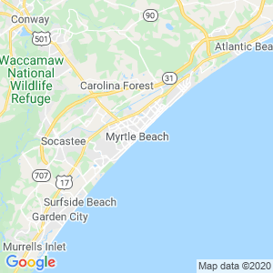 Myrtle Beach Dumpster Rentals Service Area