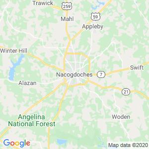 Nacogdoches Dumpster Rentals Service Area