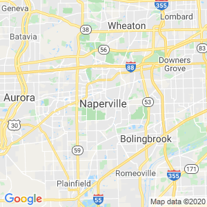Naperville Dumpster Rentals Service Area