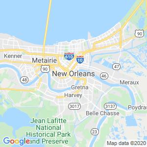 New Orleans Dumpster Rentals Service Area
