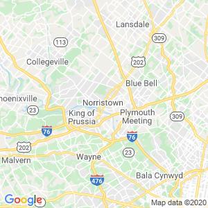 Norristown Dumpster Rentals Service Area