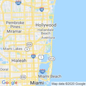 North Miami Beach Dumpster Rentals Service Area