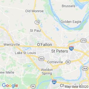 O Fallon Dumpster Rentals Service Area