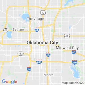 Oklahoma City Dumpster Rentals Service Area