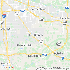 Olive Branch Dumpster Rentals Service Area