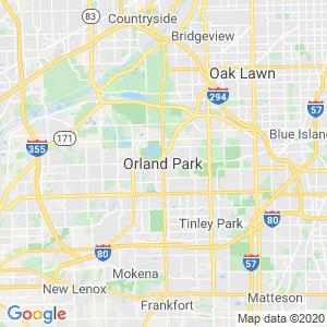 Orland Park Dumpster Rentals Service Area