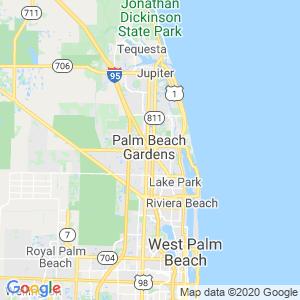 Palm Beach Gardens Dumpster Rentals Service Area