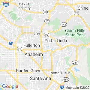 Placentia Dumpster Rentals Service Area