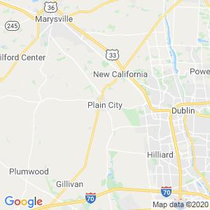 Plain City Dumpster Rentals Service Area