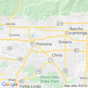 Pomona Dumpster Rentals Service Area