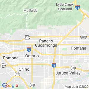 Rancho Cucamonga Dumpster Rentals Service Area