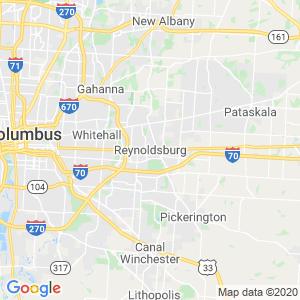 Reynoldsburg Dumpster Rentals Service Area