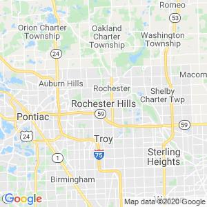Rochester Hills Dumpster Rentals Service Area