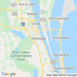 Rockledge Dumpster Rentals Service Area