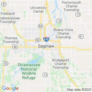 Saginaw Dumpster Rentals Service Area