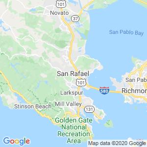 San Rafael Dumpster Rentals Service Area