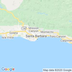 Santa Barbara Dumpster Rentals Service Area