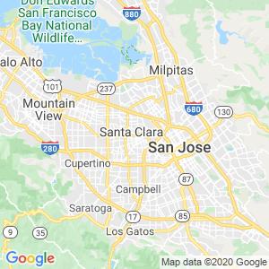 Santa Clara Dumpster Rentals Service Area