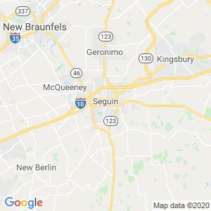 Seguin Dumpster Rentals Service Area