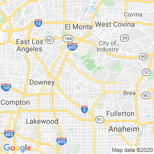 South Whittier Dumpster Rentals Service Area