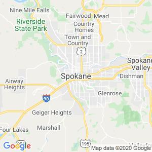 Spokane Dumpster Rentals Service Area
