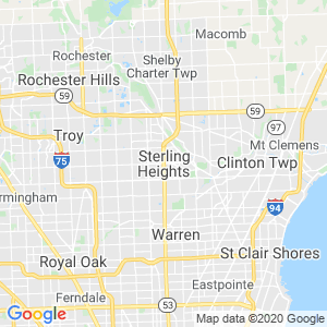Sterling Heights Dumpster Rentals Service Area