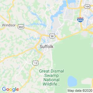 Suffolk Dumpster Rentals Service Area