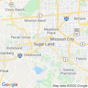 Sugar Land Dumpster Rentals Service Area