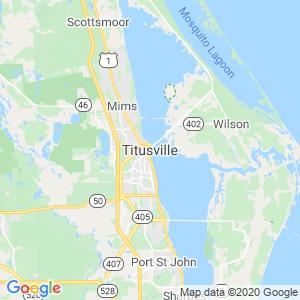 Titusville Dumpster Rentals Service Area