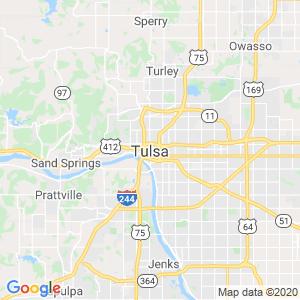 Tulsa Dumpster Rentals Service Area
