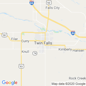 Twin Falls Dumpster Rentals Service Area