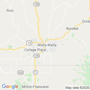 Walla Walla Dumpster Rentals Service Area