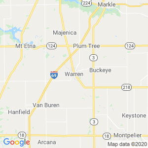 Warren Dumpster Rentals Service Area
