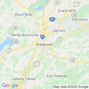 Watertown Dumpster Rentals Service Area