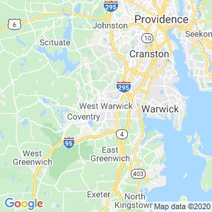 West Warwick Dumpster Rentals Service Area