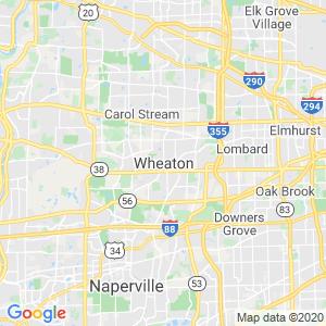 Wheaton Dumpster Rentals Service Area