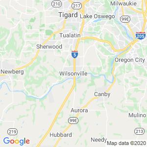 Wilsonville Dumpster Rentals Service Area